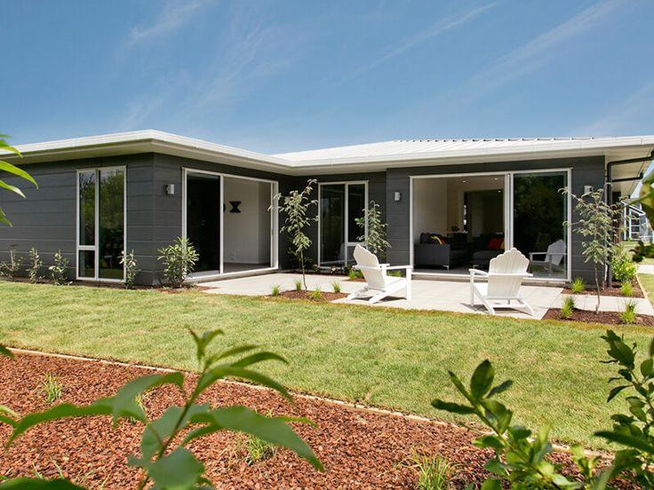 Stria cladding dark paint long lasting design modern home exteriors pinterest cladding - Long lasting exterior paint design ...