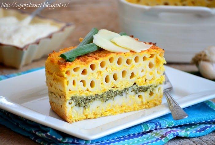 Enjoy Dessert!: Pastitsio cu dovleac, spanac si branza feta