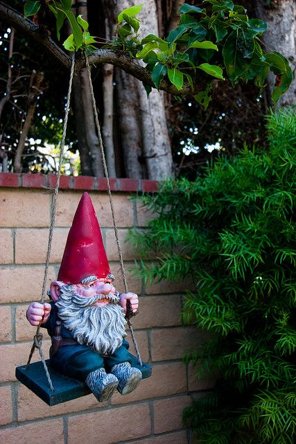 Gnome Garden Ideas a fairy door gnome door that opens 12 inch by nothinbutwood All I Want For Christmas Is This Garden Gnome I Want This So Bad