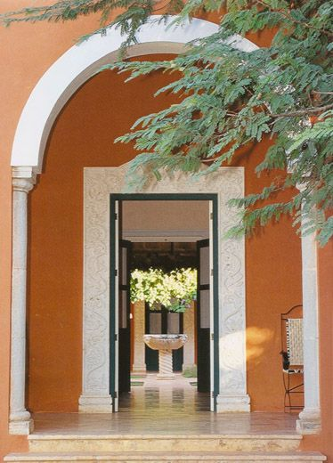 185 best spanish colonial images on pinterest spanish for Mexican style architecture