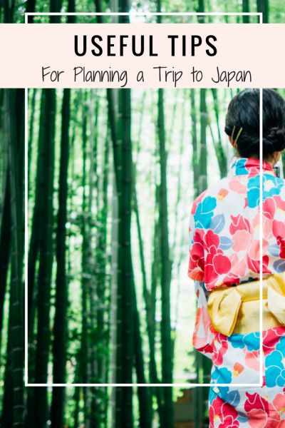 Planning a trip to Japan can be daunting so here are some useful tips to help you prepare for your adventure!