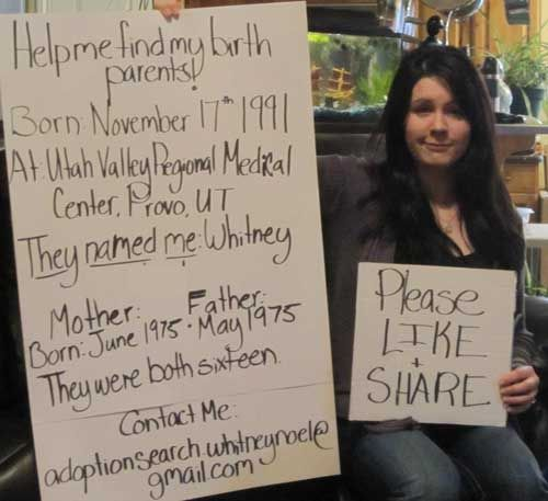 Το Facebook βοηθά υιοθετημένα παιδιά να βρουν τους πραγματικούς τους γονείς - Πραγματικά χαίρομαι όταν βλέπω πως υπάρχουν χρήστες που αξιοποιούν το Facebook για πολύ σημαντικά ζητήματα και όχι μόνο για να «σκοτώνουν» την ώρα τους. Το 1 δις... - http://www.secnews.gr/archives/57476