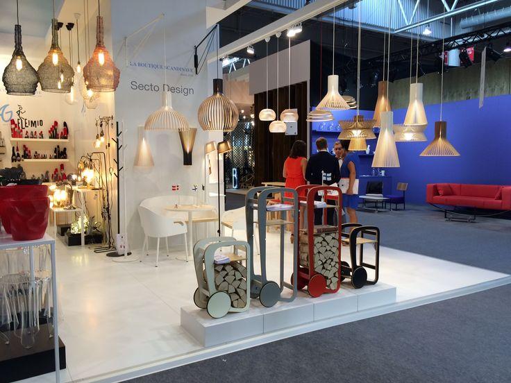 Fleimio at Maison & Objet Paris, hall 7 now! design a vivre, stand D40 & E39 (Avec La Boutique Scandinave)