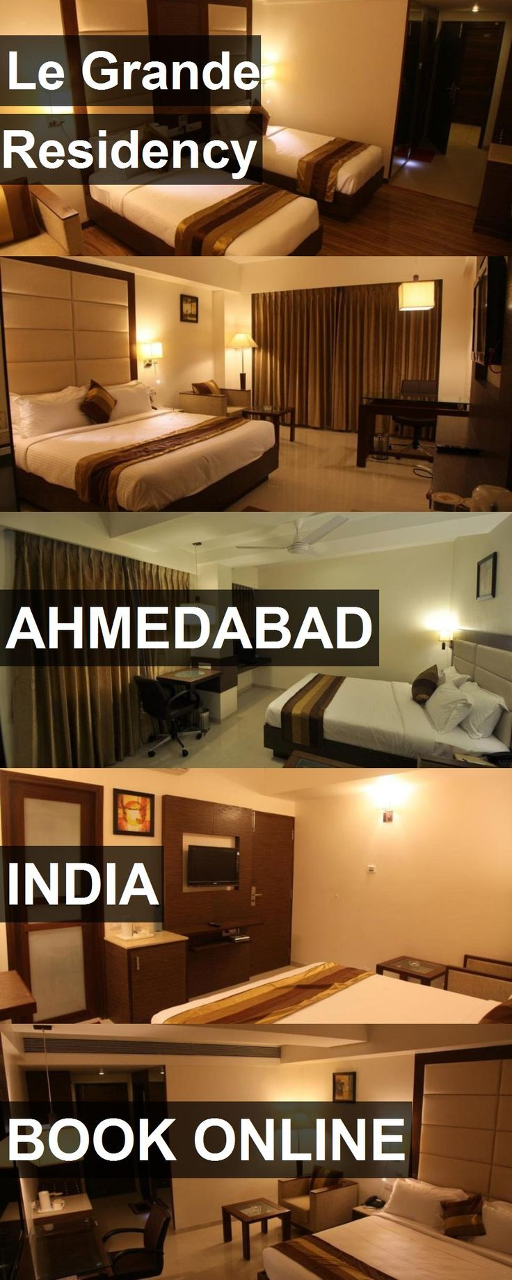 Hotel Le Grande Residency in Ahmedabad, India. For more information, photos, reviews and best prices please follow the link. #India #Ahmedabad #travel #vacation #hotel