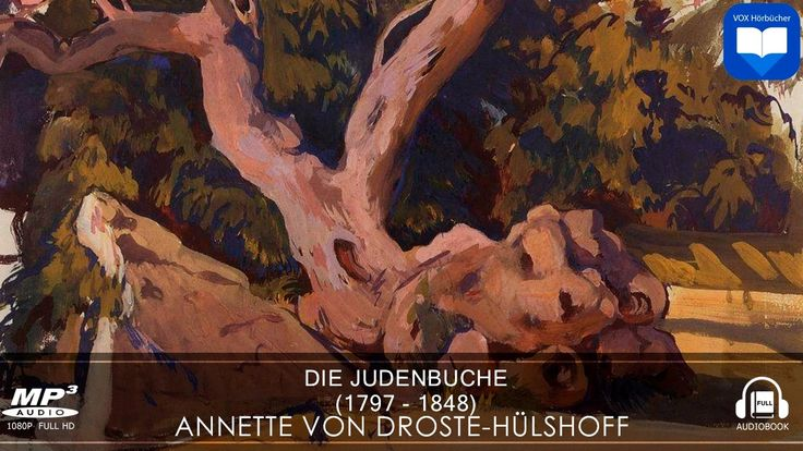 Hörbuch: Die Judenbuche von Annette Droste Hülshoff | Komplett | Deutsch