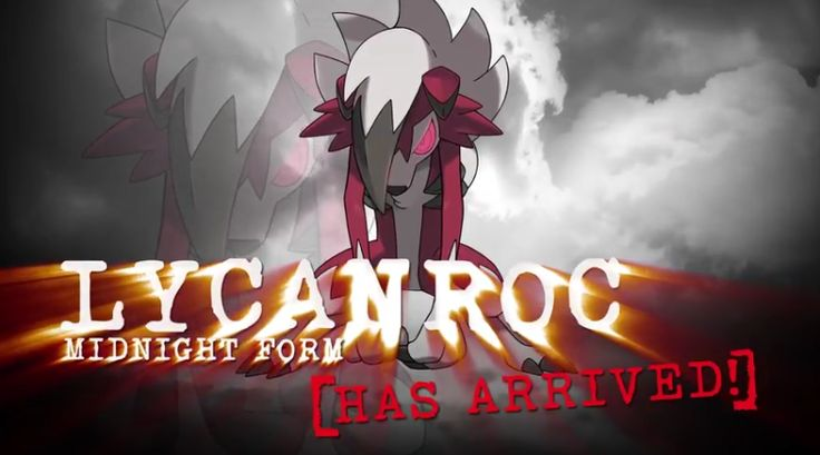 Lycanroc Now Available For Pokemon Sun and Moon