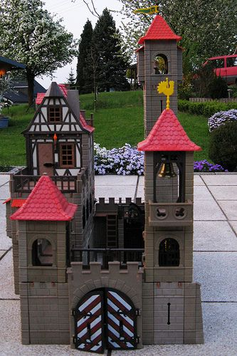 The Playmobil castle - The firt toy I bought with my own money