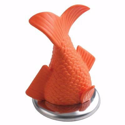 """Stuck Fish Drain Plug ($13.22) - [ This is from a weird site called """"Shut Up And Take My Money""""   < shutupandtakemymoney.com >  - a site with loads of useless and/or sincerely overpriced crap. A thorough waste of time ... but fun. -PSC] - NOTE: The site seems to just redirect you to other sites like Amazon, where you can buy the cool/weird stuff."""