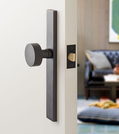 Shop Schoolhouse Electric's Door Hardware and Door Accessories such as Door Knobs, Deadbolts, Door Handles, Door Stops, Door Hinges and more.