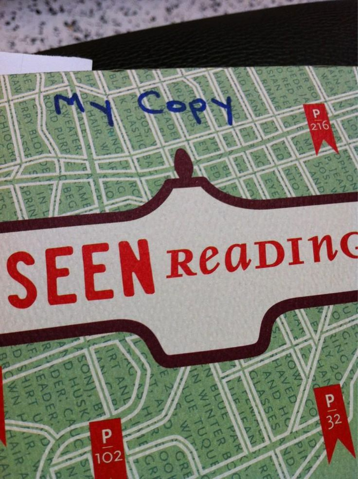 """Twitter / SeenReading: At CBC for The Next Chapter. ...  (AKA: Seen Writing """"My Copy"""" on a copy of Seen Reading)"""