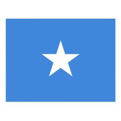 Somalia Flag Postcard - postcard post card postcards unique diy cyo customize personalize