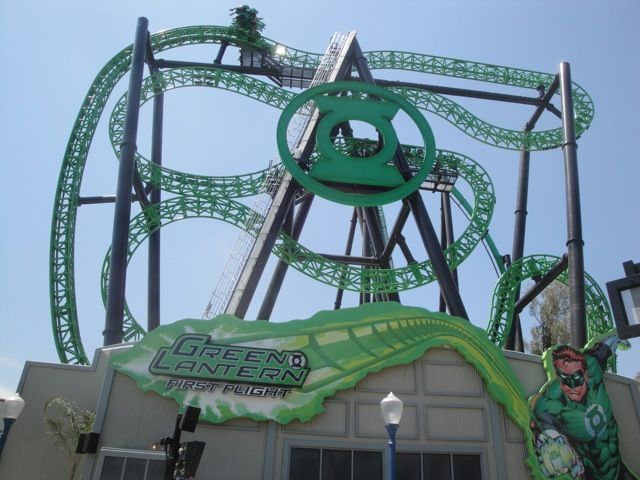 six flags what rides are open on school days