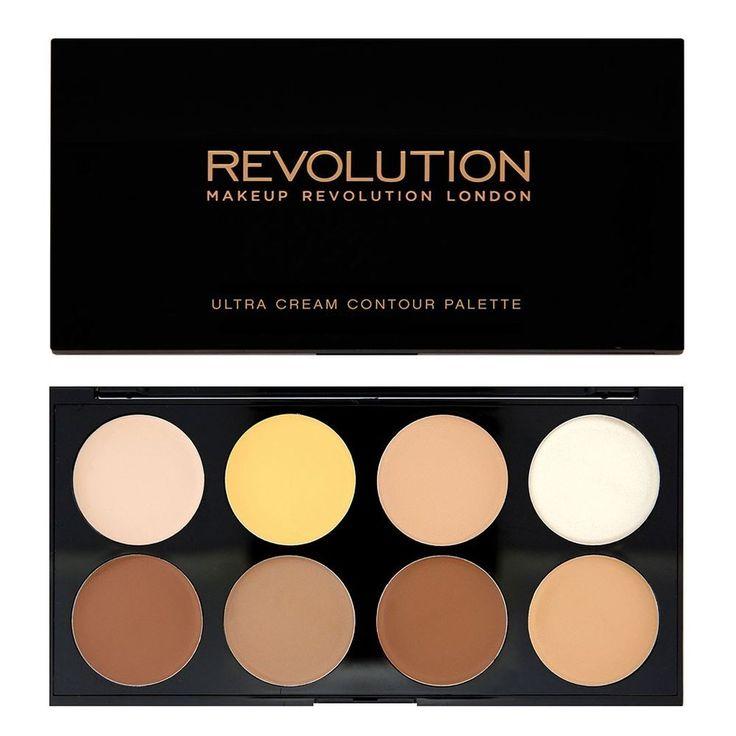 Makeup Revolution Ultra CREAM CONTOUR Palette - Sculpting Highlight Contouring