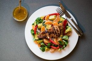 Mandarijn Kip Salade Recept - Wendy Panse-Moedt
