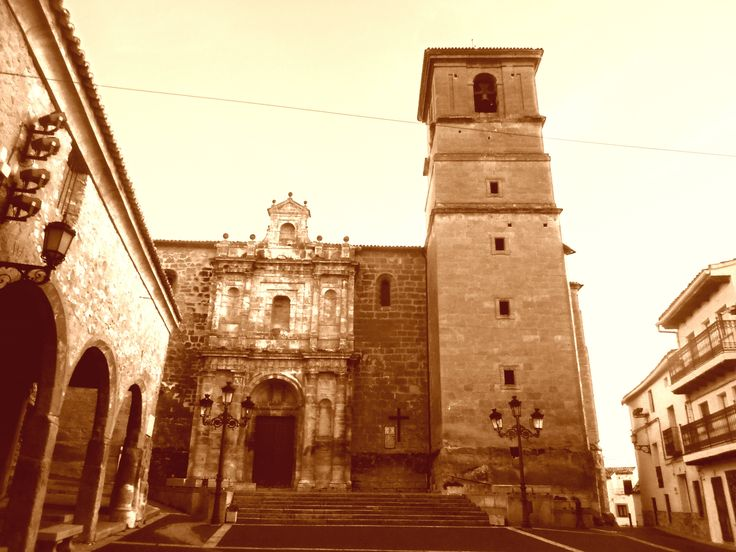 Fachada de Iglesia de Nuestra Señora de la Asunción.