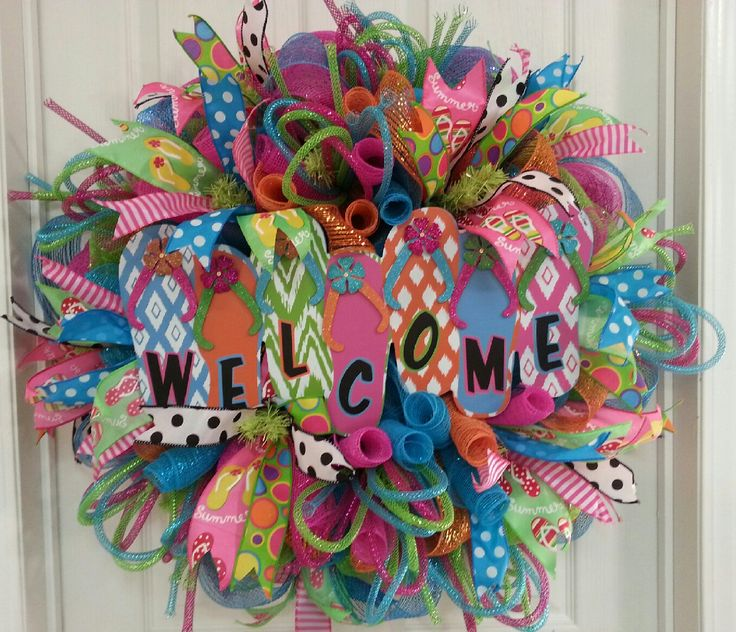 9 best images about zsa zsa craza spring summer time deco for Amazing wreaths