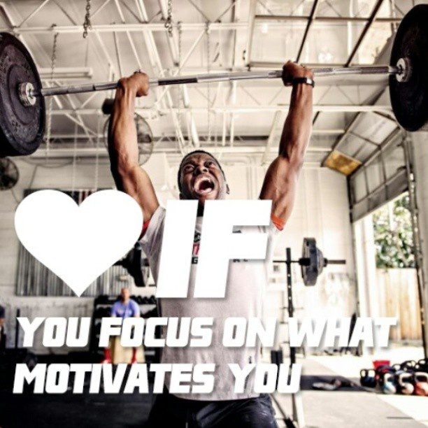 Repin this pic if you focus on what motivates you Fitness - what motivates you