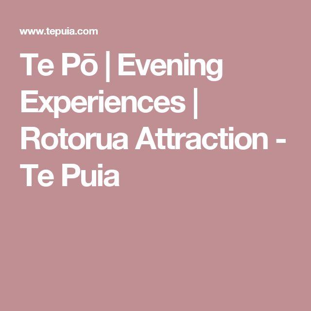 Te Pō | Evening Experiences | Rotorua Attraction - Te Puia