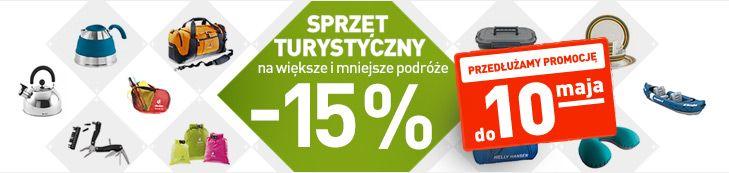 Promocja na sprzęt turystyczny, sportowy i survivalowy - Landersen.pl
