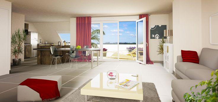 Investissement immobilier en #duflot à #Rennes Découvrez nos appartements neufs
