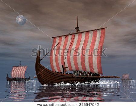 Viking Ship Arkivfotografier og billeder | Shutterstock