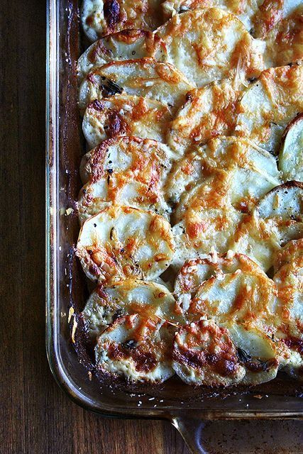 Chez Panisse Vegetables Potato Gratin via Alexandra Cooks #recipe
