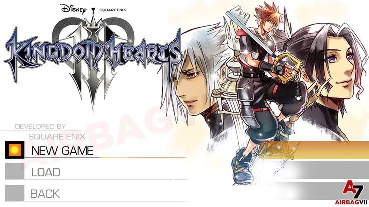 Kingdom Hearts 3 - Walkthrough Part 1 | Opening Main Menu Title Screen C...
