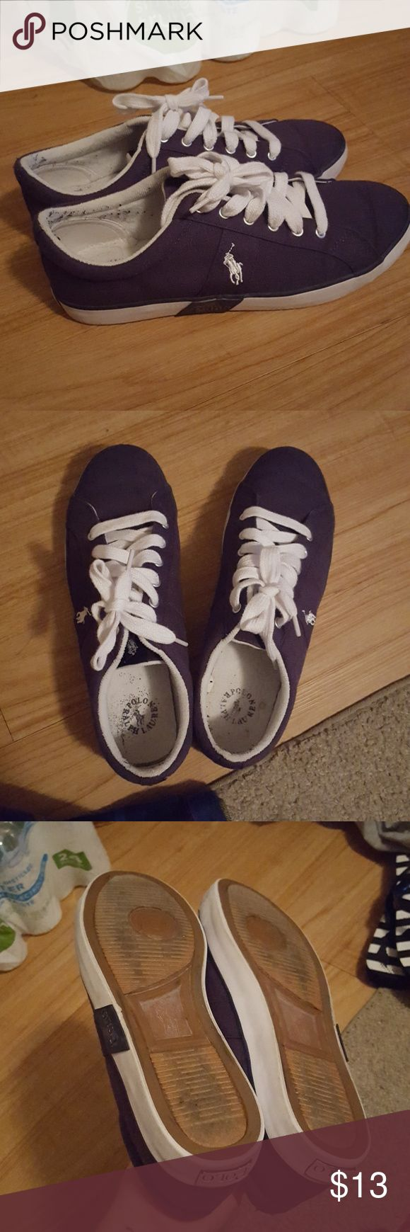 Polo shoes Excellent condition Polo By Ralph Lauren Shoes Athletic Shoes