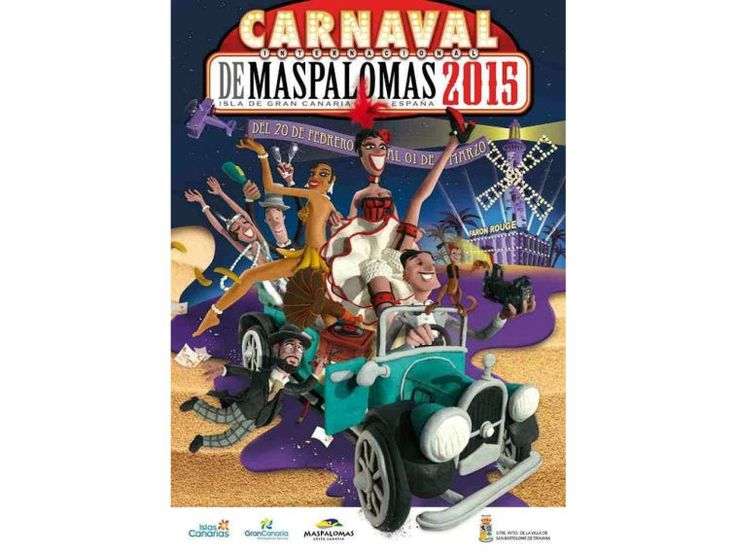 Międzynarodowy Karnawał w Maspalomas 2015 #wyspy_kanaryjskie_karnawał