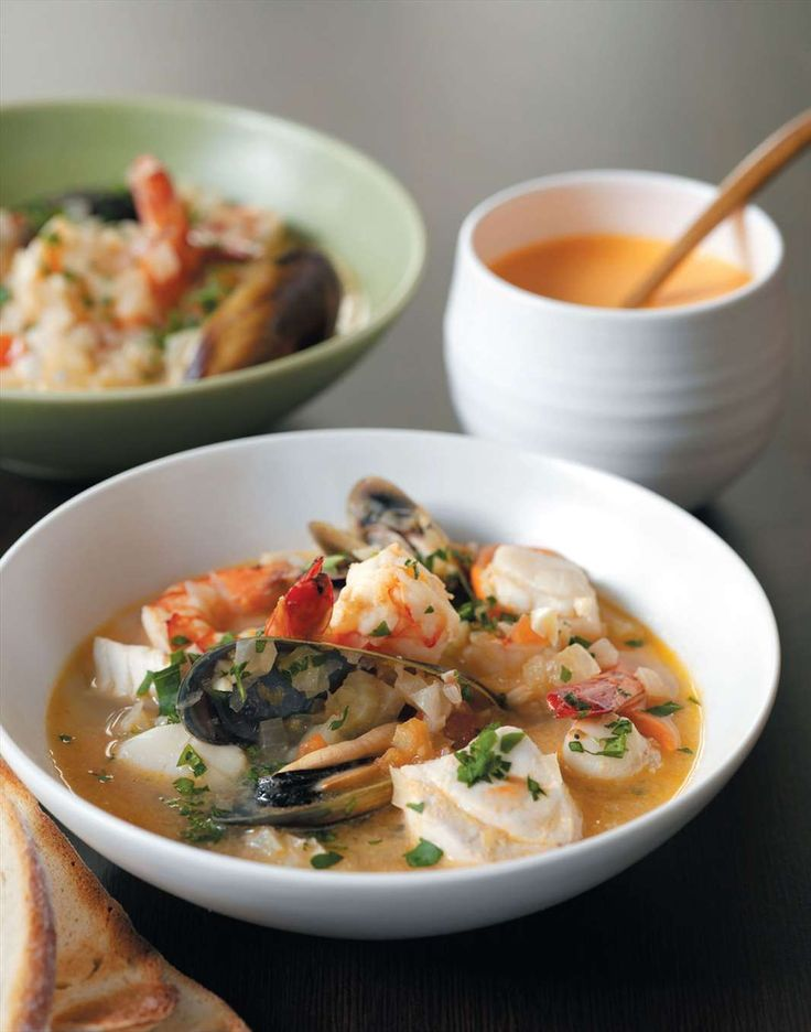 Fish stew with rouille sauce by Margaret Fulton from Margaret Fulton Favourites | Cooked