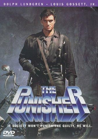 Directed by Mark Goldblatt.  With Dolph Lundgren, Louis Gossett Jr., Jeroen Krabbé, Kim Miyori. When Frank Castle's family is murdered by criminals, he wages war on crime as a vigilante assassin known only as the Punisher.