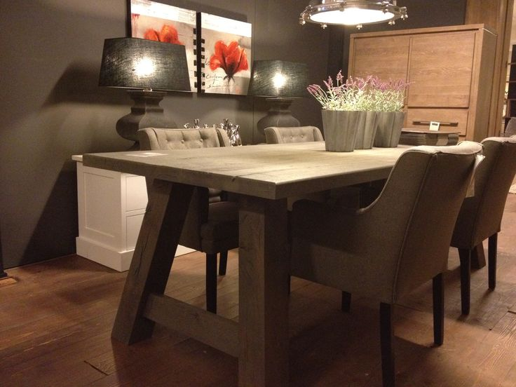 30 best Esstisch images on Pinterest Board, Dining room tables