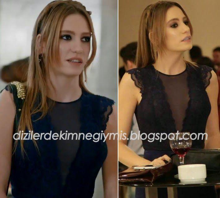 Medcezir - Mira (Serenay Sarıkaya), H&M Navy Top