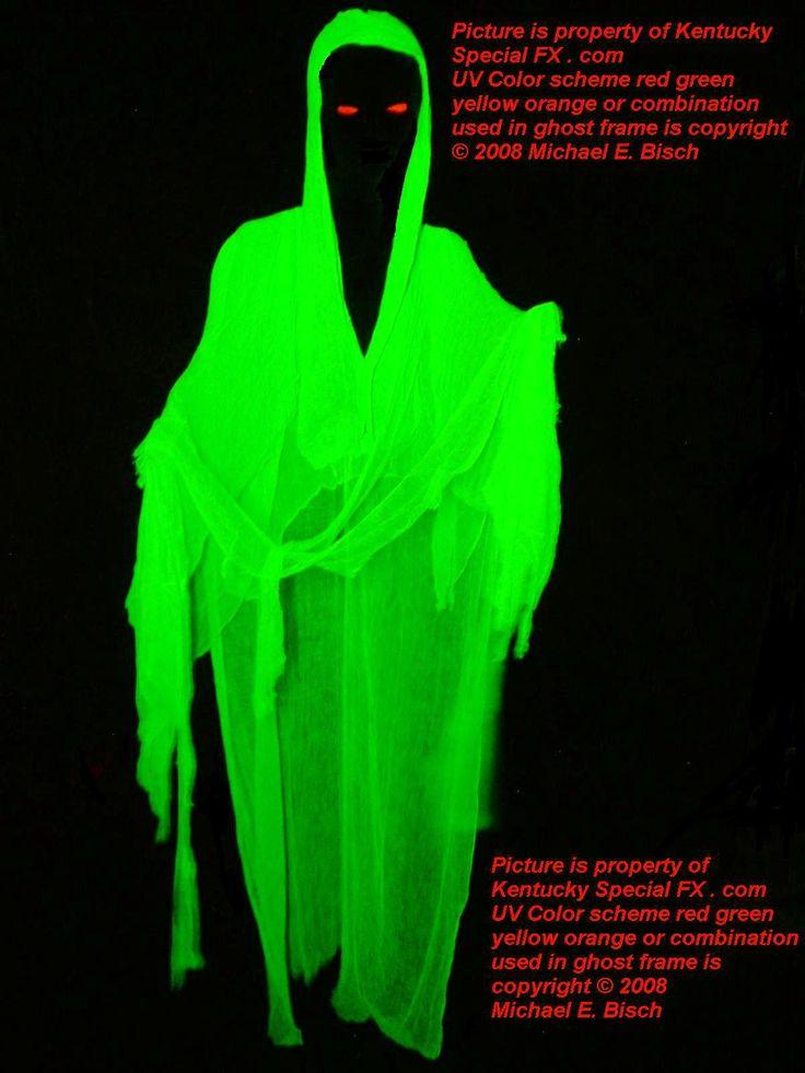 Hanging Halloween Death Eater Green Floating Demon Ghost ...