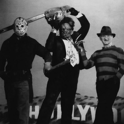 jason, leather face and freddy....FAVORITES!!!