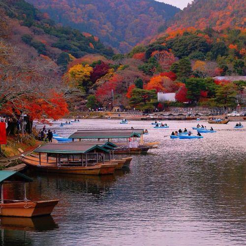 zekoffka: Autumn in Arashiyama #Kyoto #Japan (at Arashiyama, Kyoto Japan.)