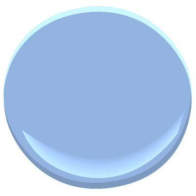 Benjamin Moore Summer Blue 2067 50 Painting The Desk In