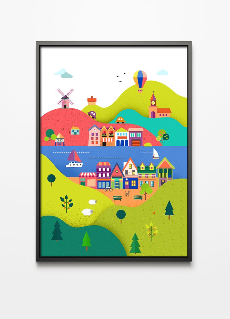 Printlove, ilustracja dla dzieci