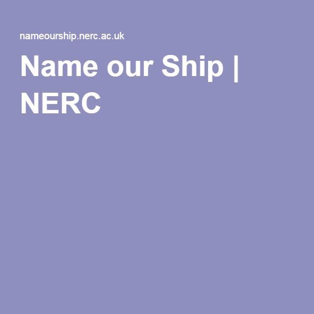 Name our Ship | NERC