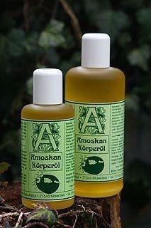 Onze Amoskan lichaam`s-olie wordt goed verdragen door kinderen.  Bij baby`s en kleine kinderen evententueel verdunnen met een goede plantaardige olie.    (Allergie-test: 1 - 2 druppels Amoskan in elleboog van het kind, ongeveer 1 - 2 uur, wachten of roodheid optreed).  Ingrediënten: Zonnebloemolie, Neemolie, Cederhout, Himalaya ceder, Eucalyptus*, Citronella*, Citroen*, Lavendel*, Eucalyptus citrio*, Pepermunt*, Kruidnagel*, Geranium*, Wierook, Kattenmunt* Forahaöl, Pastinaak.