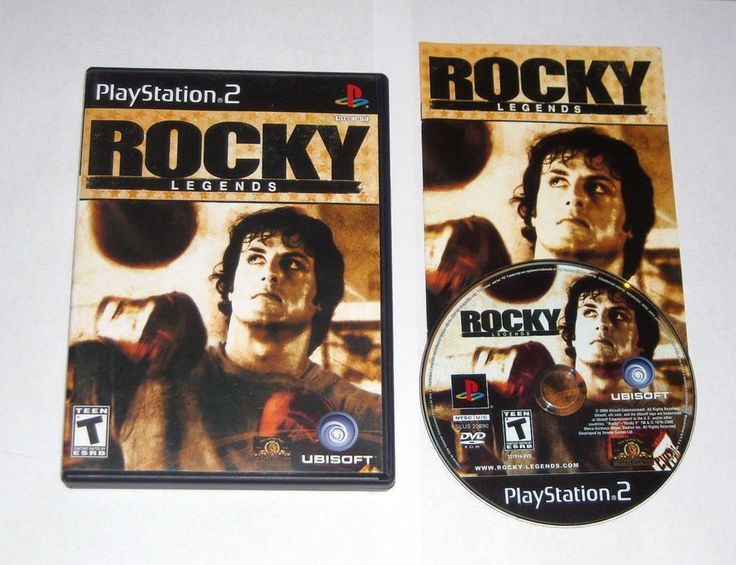 $9.60 & Ships Free! Rocky Legends - Playstation 2 Game PS2
