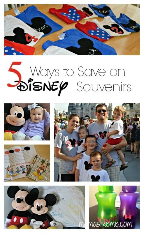 5 Ways to Save on Disney Souvenirs - Saving this for our next trip!!