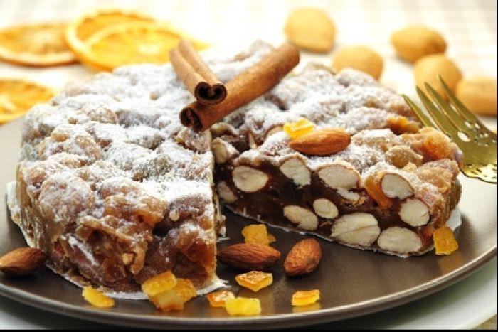 Une délicieuse recette de panforte parfumé au chocolat et aux fruits secs.