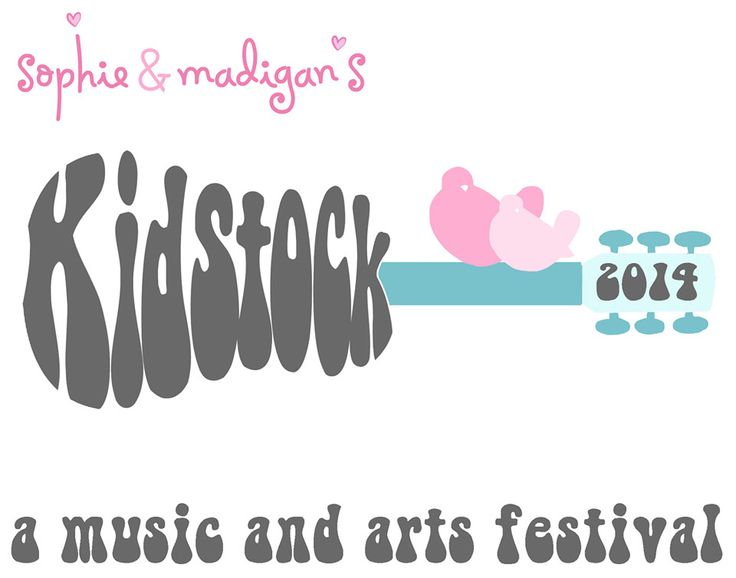 Sophie and Madigan's Kidstock 2014