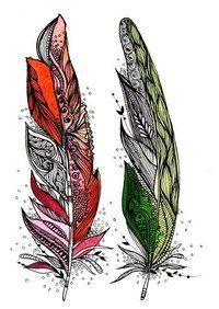 #эскиз@tattoomania #перо@tattoomania