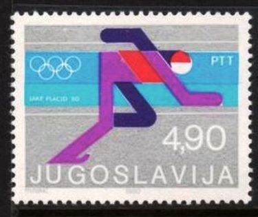 Jugoslavia-Olimpíadas de Invierno Lake Placid 1980-Carreras