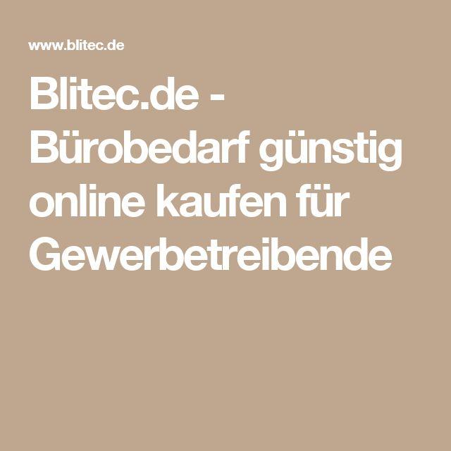 Blitec.de - Bürobedarf günstig online kaufen für Gewerbetreibende