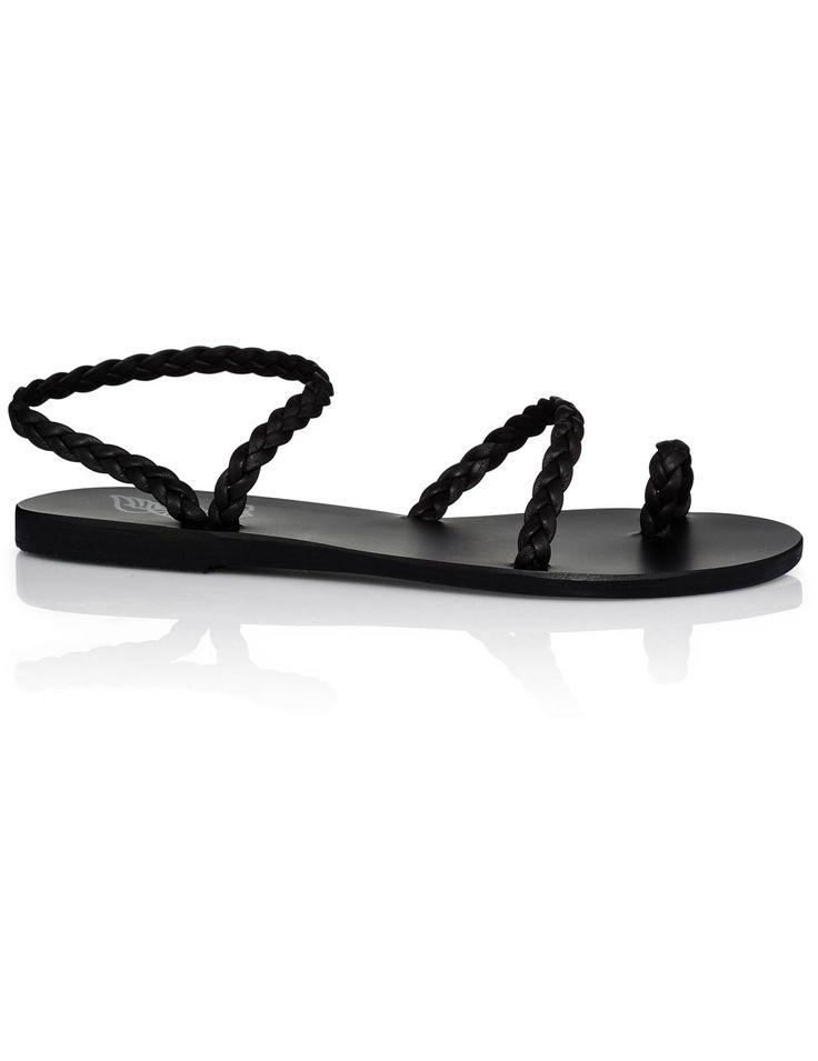 David Jones - Ancient Greek Sandals Eleftheria Plait Flat Sandal