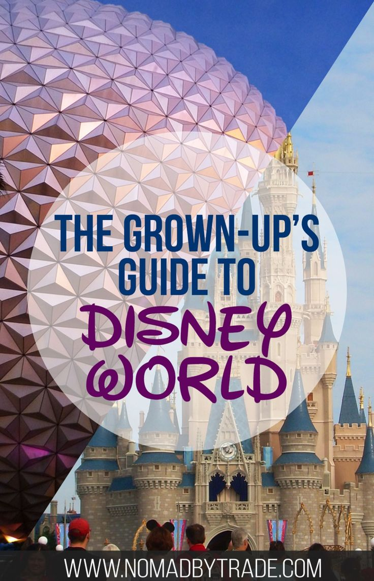 Planning to visit Disney World without kids? Here's everything you need to know for an adults trip to the parks. Disney World | Adults at Disney World | Magic Kingdom | Dining at Disney World | Orlando, Florida