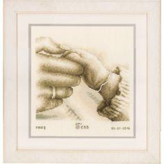 Première tendresse - tableau de naissance | vervaco pn-0154558 | broderie point de croix | boutique decoloisirs